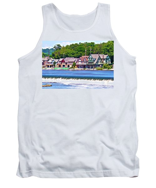 Boathouse Row - Hdr Tank Top