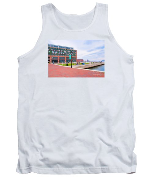Bond Street Landing Baltimore Maryland Tank Top
