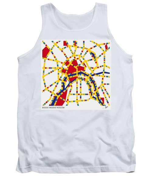 Boogie Woogie Moscow Tank Top by Chungkong Art