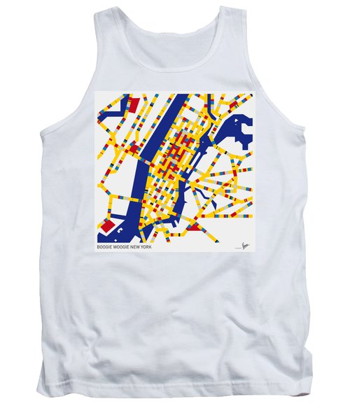Boogie Woogie New York Tank Top