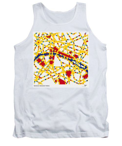 Boogie Woogie Paris Tank Top