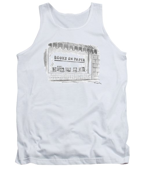 'books On Paper' Tank Top