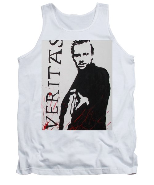 Boondock Saints Panel Two Tank Top by Marisela Mungia