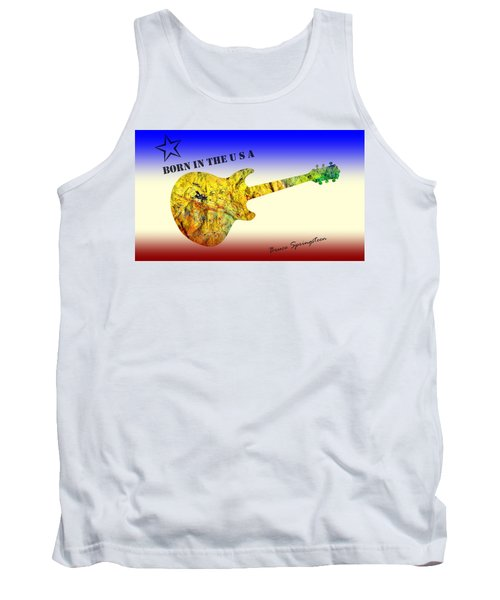 Born In The U S A Bruce Springsteen Tank Top