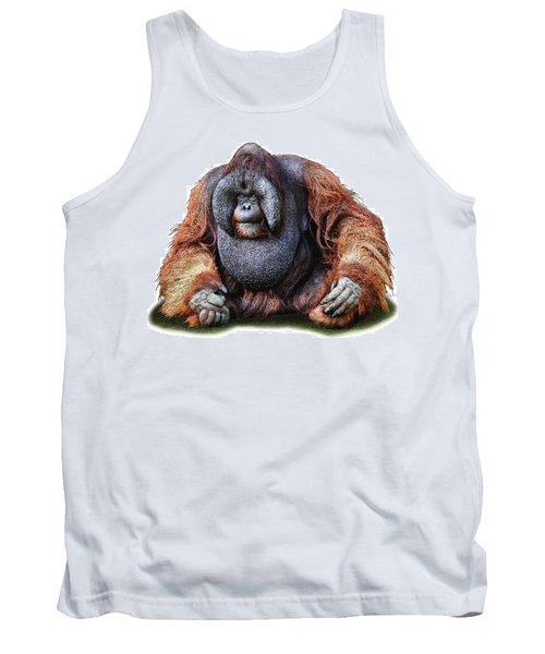 Bornean Orangutan Tank Top