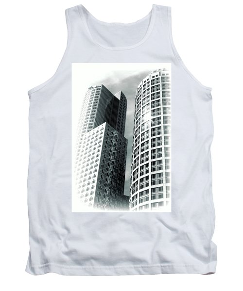 Boston Architecture Tank Top by Fred Larson