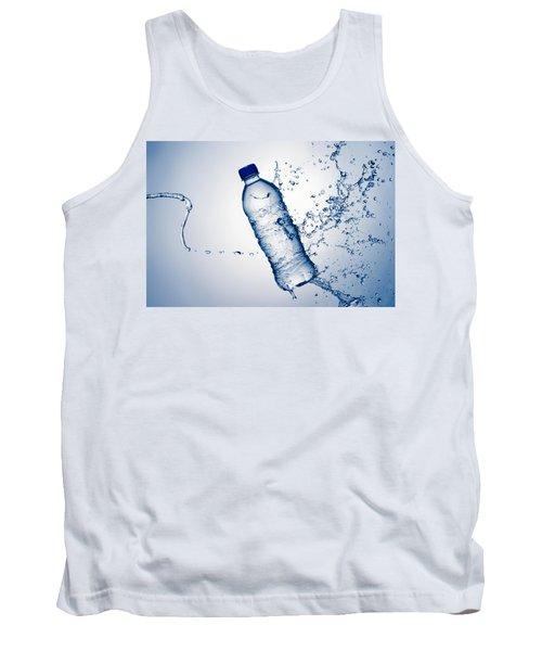 Bottle Water And Splash Tank Top