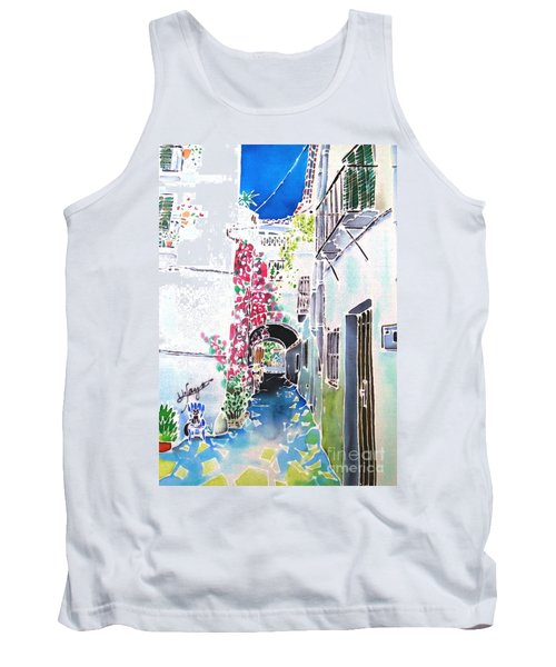 Bougainvillea Path  Tank Top