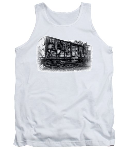 Box Car In High Key Hdr Tank Top by Michael White