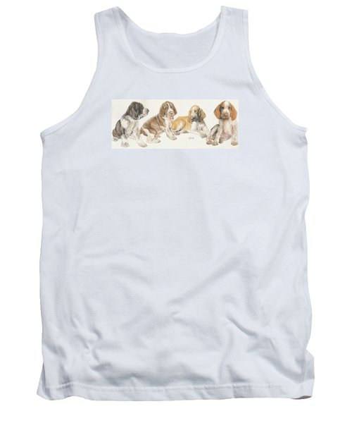 Bracco Italiano Puppies Tank Top