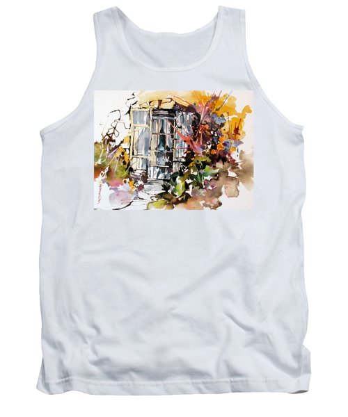 Tank Top featuring the painting Brambles by Rae Andrews