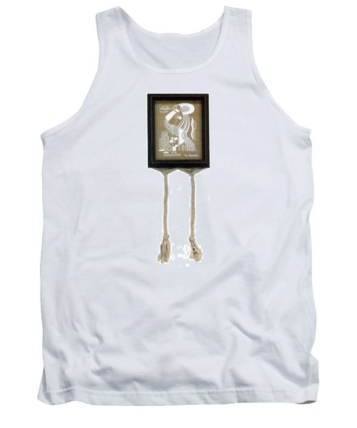 Tank Top featuring the painting Breeze by Fei A