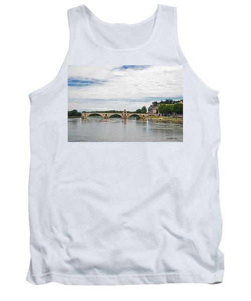 Bridge At Avignon Tank Top