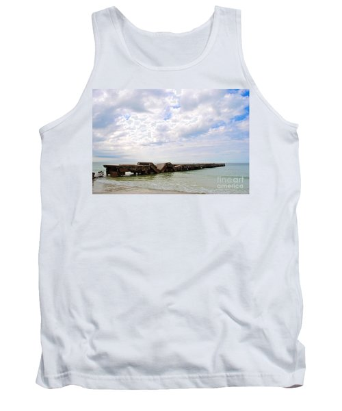 Bridge To Nowhere Tank Top by Margie Amberge