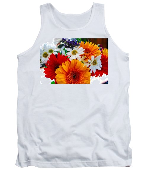 Tank Top featuring the photograph Bright by Angela J Wright