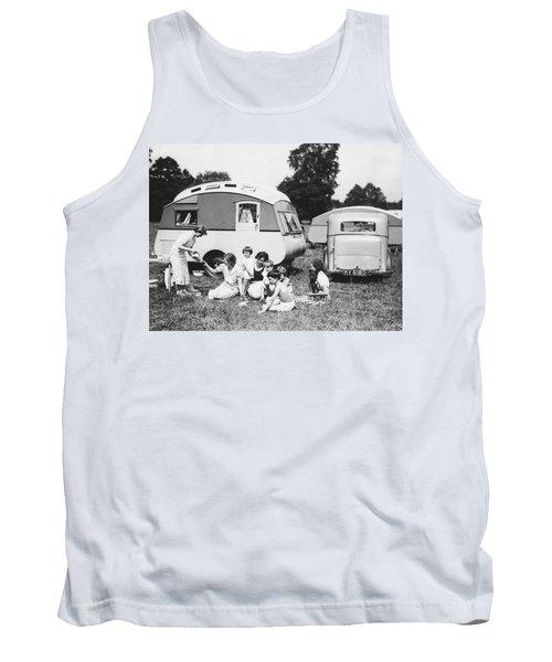 British Caravan Campers Tank Top