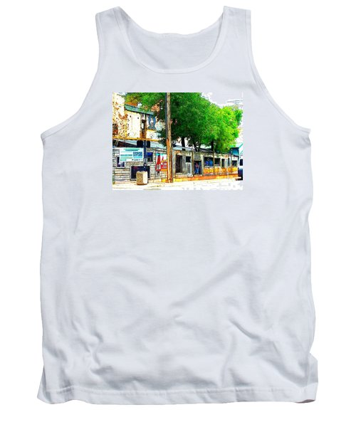 Broadway Oyster Bar With A Boost Tank Top