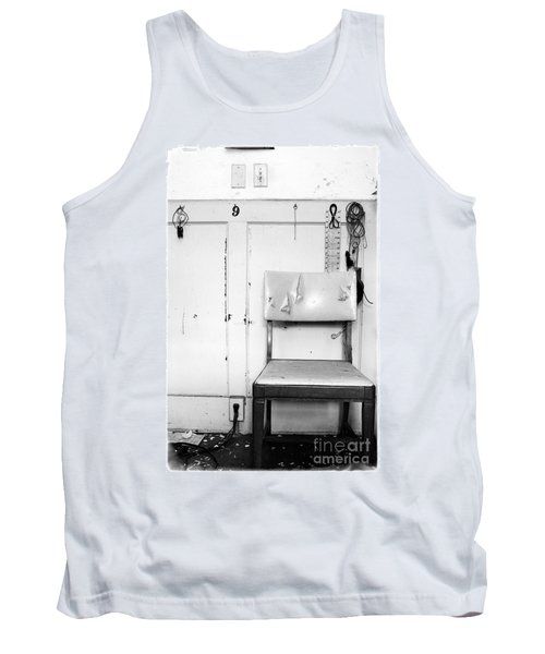 Tank Top featuring the photograph Broken Chair by Carsten Reisinger
