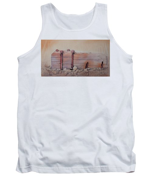 Broken Dock Seward Alaska Tank Top