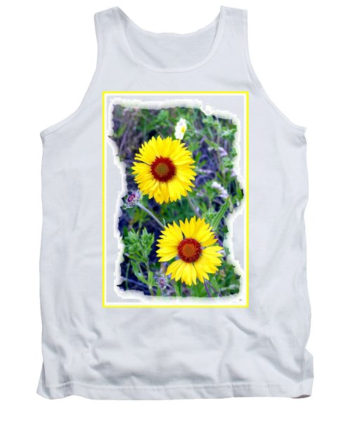 Brown- Eyed Susans Tank Top