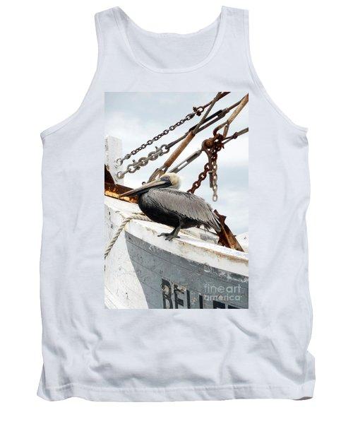Brown Pelican Tank Top