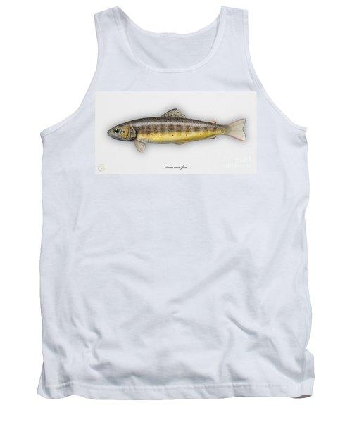 Brown Trout - Salmo Trutta Morpha Fario - Salmo Trutta Fario - Game Fish - Flyfishing Tank Top