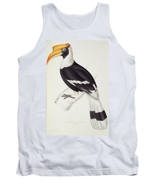 Great Hornbill Tank Top by John Gould