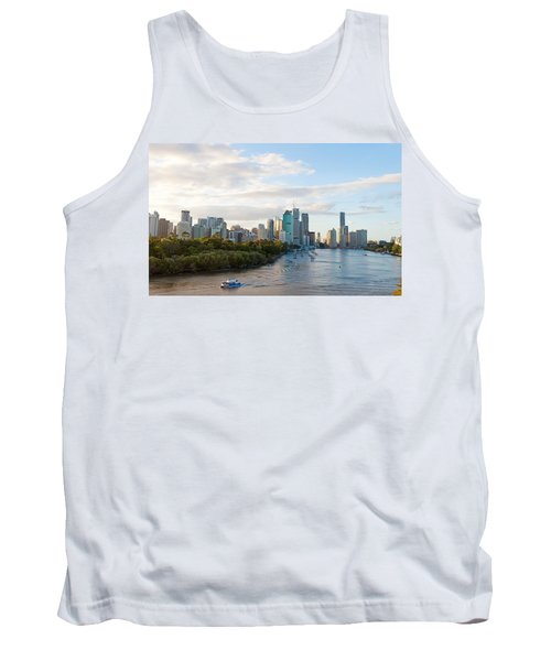 Buildings At The Waterfront, Brisbane Tank Top