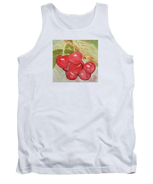 Bunch Of Red Cherries Tank Top