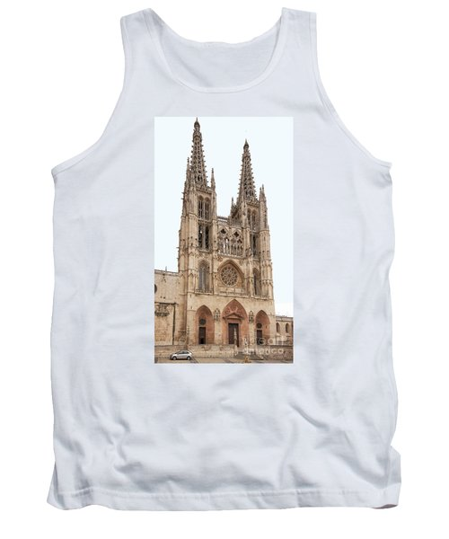 Burgos Cathedral Spain Tank Top by Rudi Prott