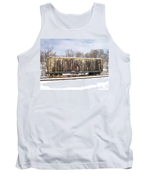 Tank Top featuring the photograph Burnt by Sara  Raber