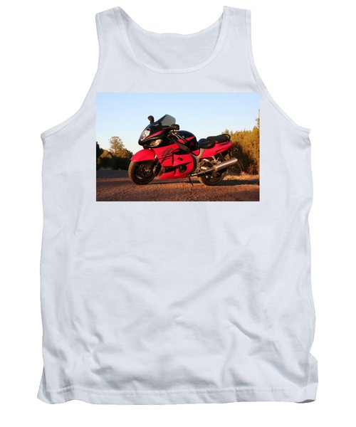 Tank Top featuring the photograph Busa by David S Reynolds