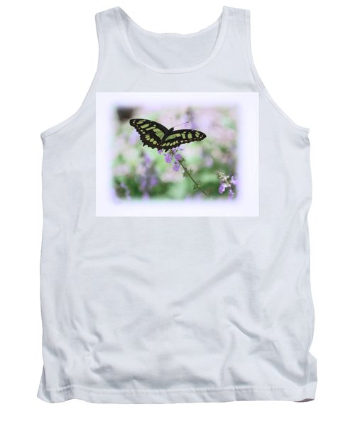 Tank Top featuring the photograph Butterfly 8 by Leticia Latocki