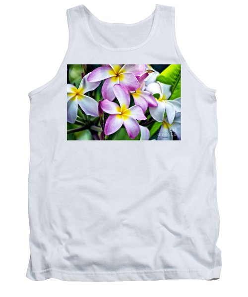 Tank Top featuring the photograph Butterfly Flowers by Thomas Woolworth