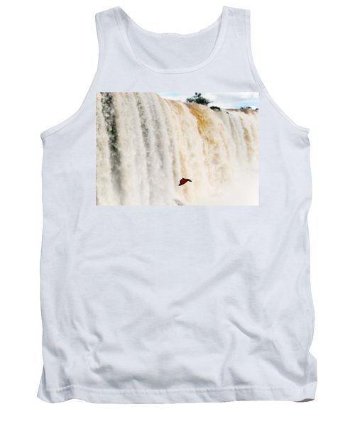 Tank Top featuring the photograph Butterfly by Silvia Bruno