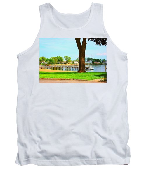 Tank Top featuring the photograph By The Sea by Judy Palkimas