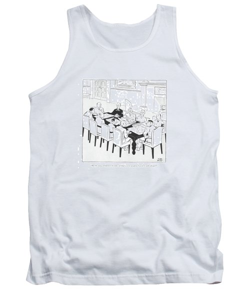 By The Way, Whatever Became Of That Secret Weapon Tank Top