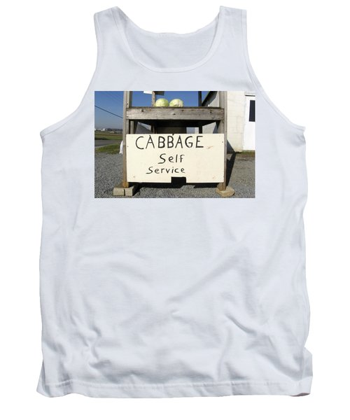 Cabbage Self Service Tank Top