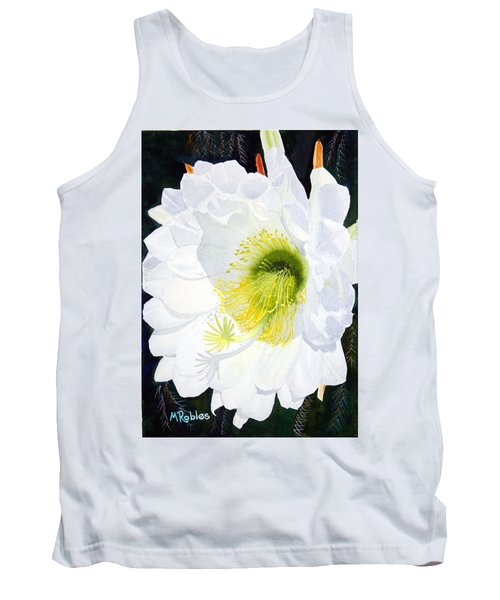 Cactus Flower II Tank Top by Mike Robles
