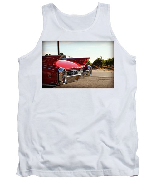 Cadillac In Wine Country  Tank Top