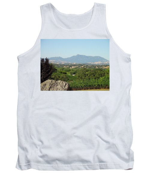 Tank Top featuring the photograph Cali View by Shawn Marlow