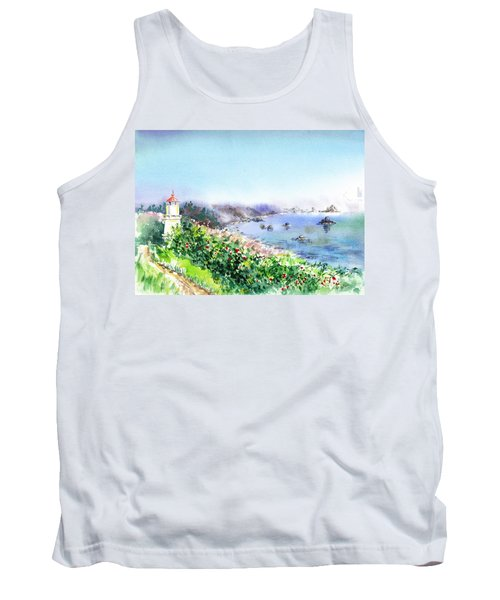 Lighthouse Trinidad California Tank Top