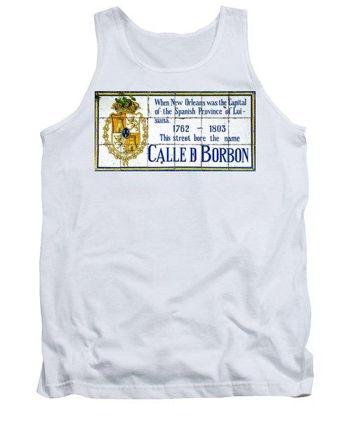 Calle D Borbon Tank Top