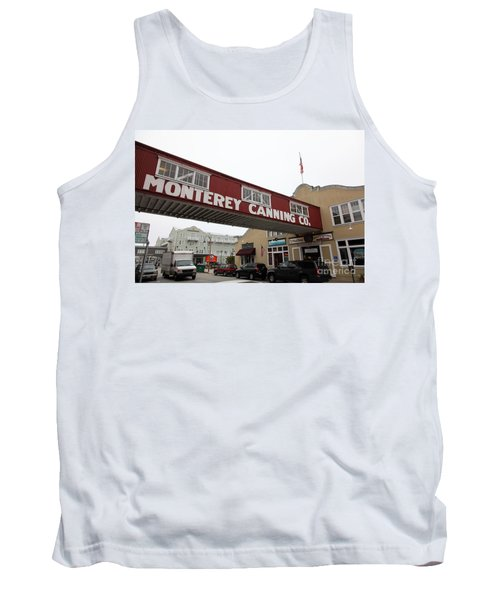 Calm Morning At Monterey Cannery Row California 5d24782 Tank Top
