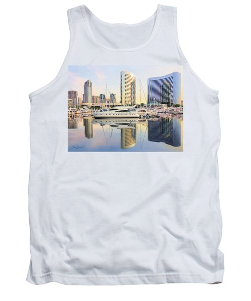 Calm Summer Morning Tank Top by Jane Girardot