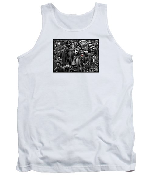 Can 'o' Worms Tank Top