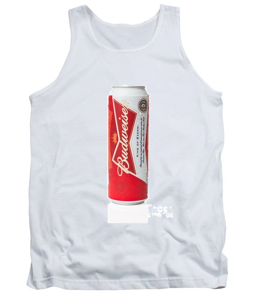 Can Of Budweiser Beer Tank Top