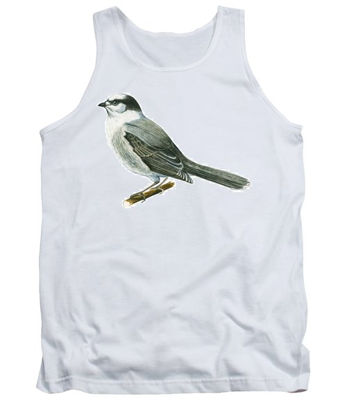 Canada Jay Tank Top by Anonymous