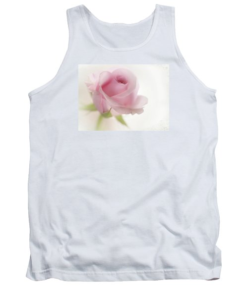 Tank Top featuring the mixed media Candy Floss by Morag Bates