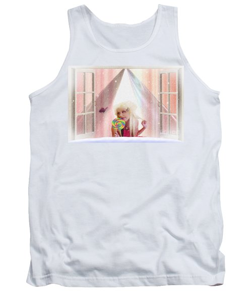 Candy Kisses Tank Top by Liane Wright